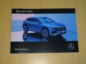 2021 Mercedes BENZ The new EQA brochure from Japan