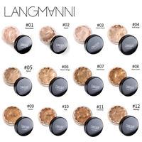LANGMANNI Face Makeup Concealer Foundation Palette Creamy Moisturizing Concealer