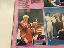 1982 Wayne Gretzky - Finnish Suosikki postcard - inside a  Magazine