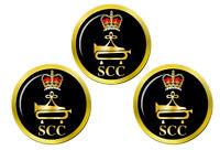 Mer Cadets SCC Clairon Badge Marqueurs de Balles de Golf