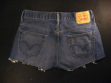Levis Vintage 569 CUTOFF JEANS SHORTS Cut Off W 31 MEASURED Loose Daisy Dukes