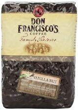 Don Francisco Family Reserve Vanilla Nut Whole Bean Coffee, 32 Ounce , New, Free