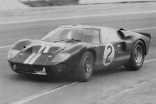 Ford GT40 Mk. II & Chris Amon – winners 24 Hours Le Mans 1966 - photograph