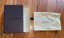 Louis Vuitton Empty Key Pouch Slide Out Box With Duster Bag