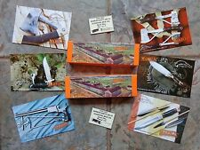 Marble's - Marble Arms - Marble Safety Axe Co. Hunting Knife Advertising Lot