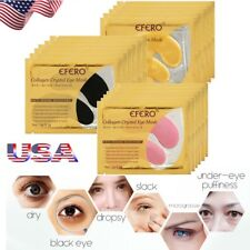 US 15packs Gold Crystal Collagen Under Eye Patches Mask Dark Circles Bags Wrinke