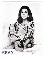 Jacqueline Susann snazzy clothes  VINTAGE Photo