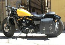 CRUIZER Monoborsa mono borse moto incavo pelle kawasaki vn900 custom grande