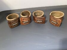 Vintage Leather Wrist Restraint, Humane Restraints Used In State Hospital