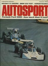 Autosport January 8th 1976 *Ford RS2000 & Patrick Neve*