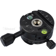 Panoramic Panorama Head f Arca-Swiss Camera Tripod Ball Head&Quick Release Plate