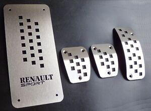 PEDALIERA RENAULT CLIO IV 4 CAPTUR DCI AUTHENTIQUE DYNAMIQUE RS SPORT EXPRESSION