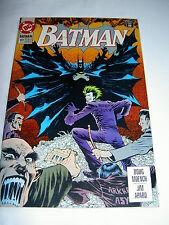 "BATMAN  491. ""KNIGHTFALL"" PREQUEL. BANE. JOKER. By MOENCH & APPARO. DC. 1993"