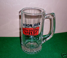 """Yukon Jack"" Heavy Duty Glass Beer Stein/Mug - Hard to Find!"