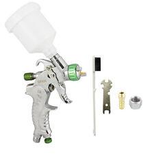 Mini HVLP SPRAY GUN 1.0mm TIP Basecoat Car Auto Paint w/ Spot Repair Plastic Cup