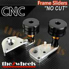 CNC Frame Sliders (No Fairing Cut) for Honda CBR1000RR 2012-2016 *non-ABS