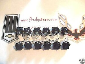 1970 - 1981 CAMARO / Z28 - DASH GAUGE LIGHT SOCKET & BULB KIT - 24 PIECE SET!