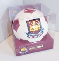 West Ham United Football Money Bank - West Ham Money Box - Idea Football Gift