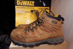 DEWALT PRO-LITE COMFORT SAFETY BOOTS BROWN SB P SRA SIZE UK 11 / EU 45 - AA144