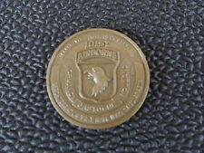 101ST AIRBORNE     -         Challenge COIN  IN NEW CONDITION