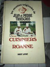 Jean Et Pierre Troisgros «cuisiniers a Roanne»