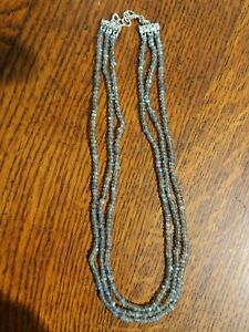 Collier triple LABRADORITE