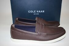 NIB COLE HAAN Size 9.5 Men's Java 100% Tumbled Leather HYANNIS PENNY Loafer