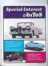 SPECIAL INTEREST AUto-SIA 19 1958 Edsel / 47 Studebaker / 34 Pontiac / Chryslers