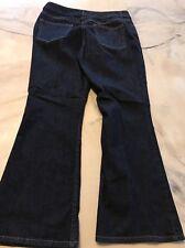 Travel Smith Size 16 P Jeans Dark Wash