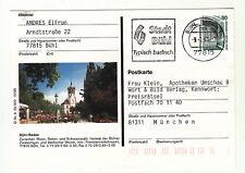Bühl Baden Bildpostkarte Ganzsache stampsdealer