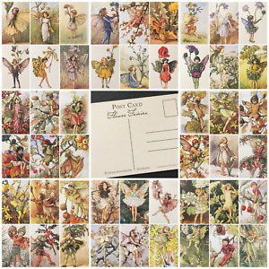 Flower Fairy Postcards Cicely Mary Barker - 1-50 - Choose Fairies From List