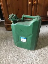 Used Modern Green 10L Metal Jerry Can 17/2/N
