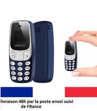 mini téléphone portable L8star BM10 bluetooth double sim changeur voix GSM