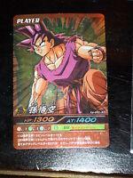 DRAGON BALL Z//GT DBZ DATA BAKURETSU IMPACT CARD CARDDASS PRISM CARTE PE-029 III