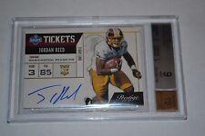 GRADED (MINT) 2013 Jordan Reed ROOKIE Prestige Draft Tickets Autograph RC Card
