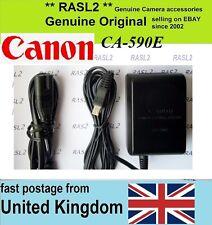 Original Canon Chargeur CA-590E Vixia Legria HF R16 R17 R18 R106 R10 R11 R100 e