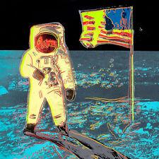 Moonwalk 1987 1 by Andy Warhol 85cm x 85cm Stretched Canvas