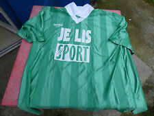 maillot de foot Je Lis le sport vert Duarig XL porté n°10