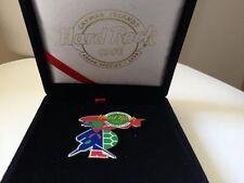 Hard Rock Cafe CAYMAN Islands Grand Opening Pirate Turtle 2000 / Pin / BOX