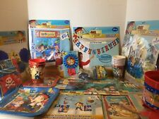 Disney Jake And The Neverland Pirates Birthday Party Supplies HUGE Lot Of 22 pcs