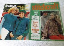ORIGINAL, VINTAGE, STITCHCRAFT MAGAZINE, DECEMBER  1976 No. 516