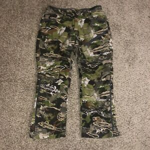 Under Armour UA Forest Camo Loose Fit Hunting Pants 1347443-940 Men's Sz. 36 NWT