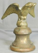 Antique Hardware Vintage  Brass Finial Colonial Early American Clock Topper
