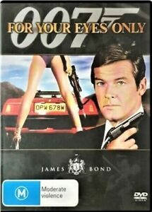For Your Eyes Only DVD JAMES BOND 007 Roger Moore R4