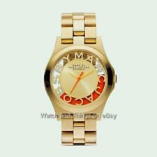 Marc By Marc Jacobs Henry Skeleton Gold AUTOMATIC Ladies Watch MBM9701 $350