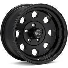 15 inch 15x7 Black Wheels Rims EARLY CLASSIC CHEVY OLD SCHOOL 5x4.75 w/Lugs