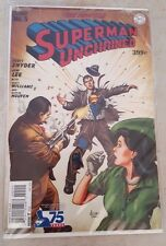 SUPERMAN UNCHAINED #5 RARE GOLDEN AGE VARIANT 1:75 NM JIM LEE SNYDER DC NEW 52