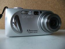 Sony Cyber-shot DSC-P8 3.2MP Digital Camera - Silver