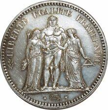 O867 5 Francs Hercule 1848 A Paris Argent Silver  SPLENDIDE >Make offer