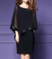 Women Fashion Elegant Dress Praty Evening Cocktail Casual Dresses Ladies Midi